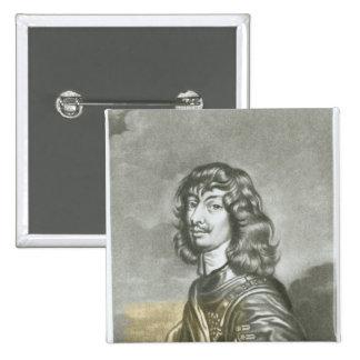 Portrait of Algernon Percy 2 2 Inch Square Button