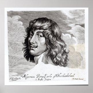 Portrait of Algernon Percy Poster