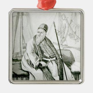 Portrait of Ali Pasha of Yannina Metal Ornament