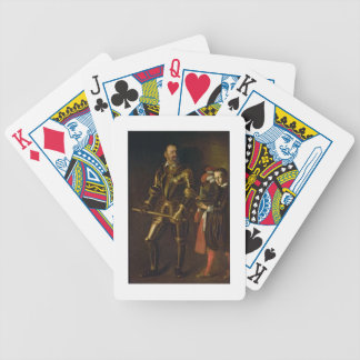 Portrait of Alof de Wignacourt, Grand Master of th Bicycle Playing Cards
