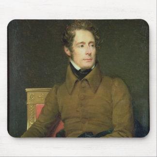 Portrait of Alphonse de Lamartine , 1831 Mouse Pad