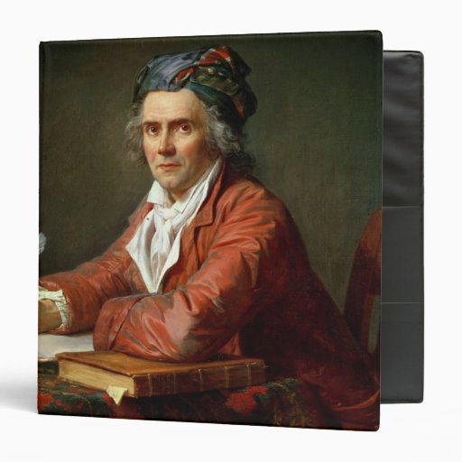 Portrait of Alphonse Leroy, 1783 Vinyl Binders