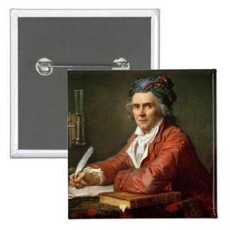 Portrait of Alphonse Leroy, 1783 Button