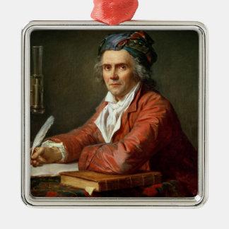 Portrait of Alphonse Leroy, 1783 Metal Ornament