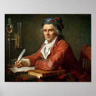 Portrait of Alphonse Leroy, 1783 Poster