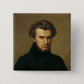 Portrait of Ambroise Thomas  1834 Pinback Button