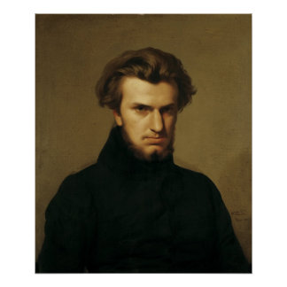 Portrait of Ambroise Thomas  1834 Poster