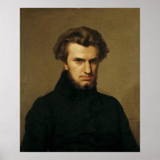 Portrait of Ambroise Thomas  1834 Poster