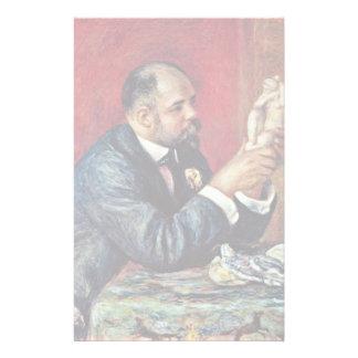 Portrait Of Ambroise Vollard By Pierre-Auguste Stationery