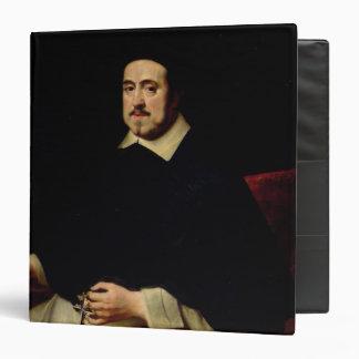 Portrait of Ambrosius Cappelus 3 Ring Binder