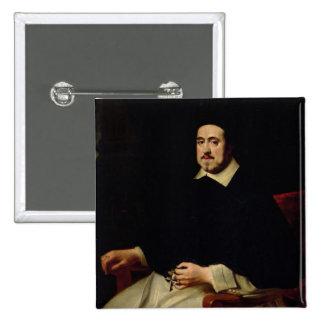 Portrait of Ambrosius Cappelus Button