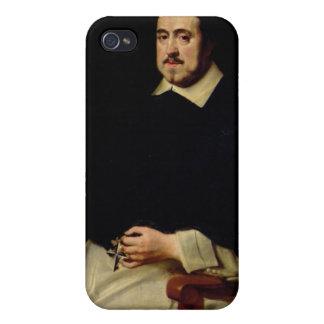Portrait of Ambrosius Cappelus iPhone 4/4S Cover