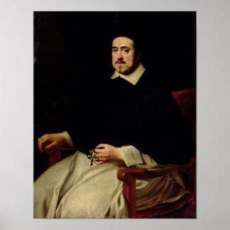 Portrait of Ambrosius Cappelus Poster