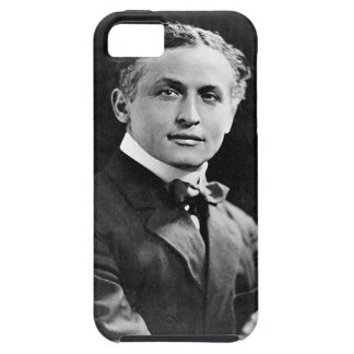 Portrait of American Magician Harry Houdini iPhone 5 Covers
