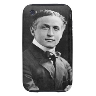 Portrait of American Magician Harry Houdini iPhone 3 Tough Case