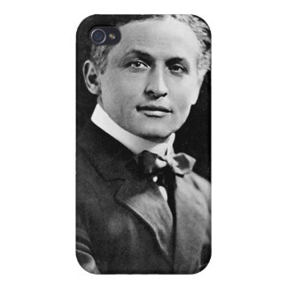 Portrait of American Magician Harry Houdini iPhone 4/4S Cases