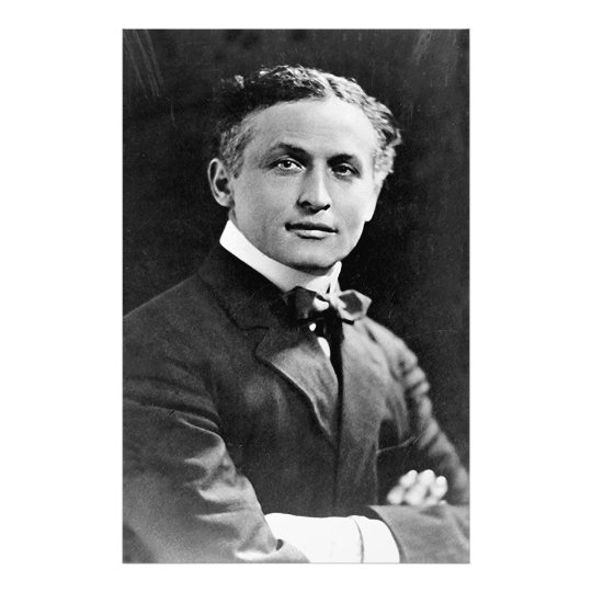 Portrait of American Magician Harry Houdini Photo Print