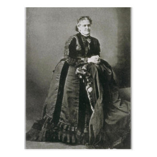 Portrait of American Writer Helen Hunt Jackson Postcard