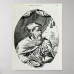 Portrait of Amerigo Vespucci Poster