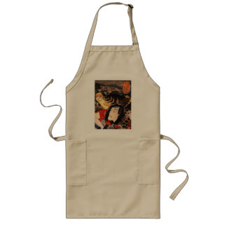 Portrait of an actor with a fish long apron