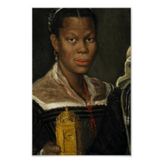 Portrait of an African Slave Woman Posters