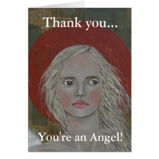 Portrait of an Angel Stationery Note Card