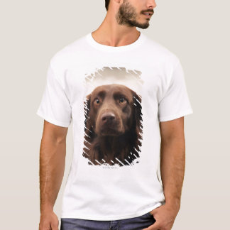 Portrait of an apprehensive young female T-Shirt