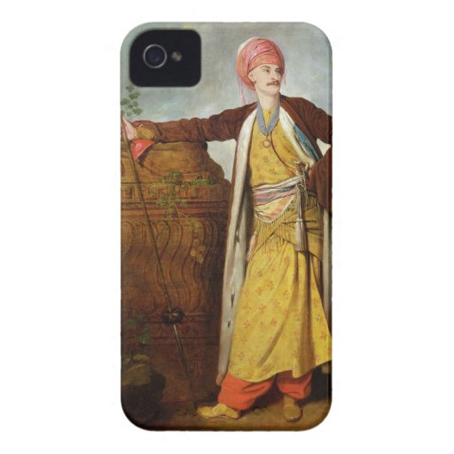 Portrait of an Armenian, 1771 (oil on canvas) iPhone 4 Case-Mate Case
