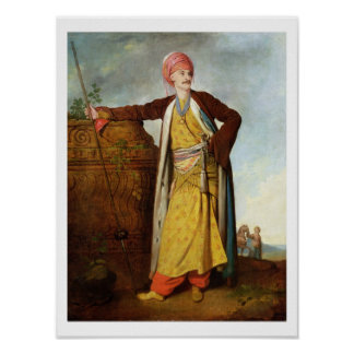 Portrait of an Armenian, 1771 (oil on canvas) Poster