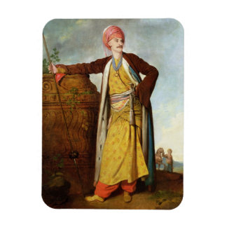 Portrait of an Armenian, 1771 (oil on canvas) Rectangular Photo Magnet