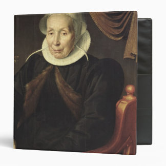 Portrait of an Elderly Woman, 1603 3 Ring Binder