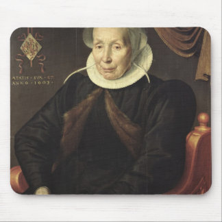 Portrait of an Elderly Woman, 1603 Mouse Pad