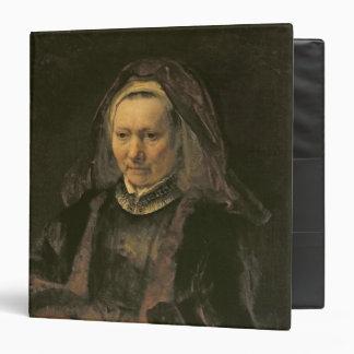 Portrait of an Elderly Woman, c. 1650 Binder