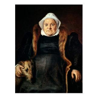 Portrait of an Elderly Woman Postcards