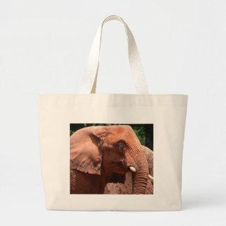 Portrait Of An Elephant Hand Bag
