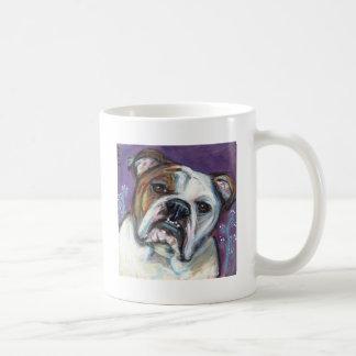 Portrait of an English Bulldog Mugs