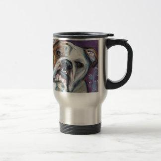 Portrait of an English Bulldog Coffee Mug