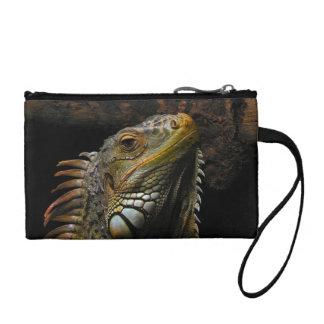 Portrait of an Iguana Coin Wallet