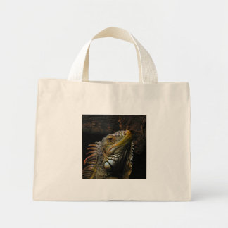 Portrait of an Iguana Bags