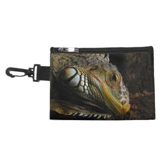 Portrait of an Iguana Accessory Bag