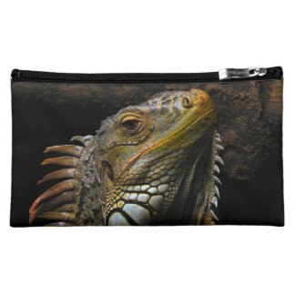 Portrait of an Iguana Cosmetics Bags
