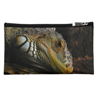 Portrait of an Iguana Cosmetic Bag