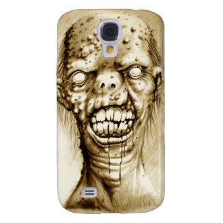 Portrait of an irradiated zombie with a cleft lip galaxy s4 cover