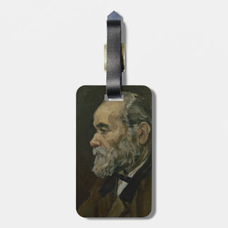 Portrait of an Old Man by Vincent Van Gogh Bag Tags