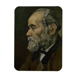 Portrait of an Old Man by Vincent Van Gogh Rectangle Magnet
