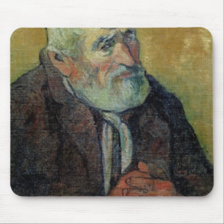 Portrait of an Old Man with a Stick, 1889-90 Mouse Pad