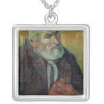 Portrait of an Old Man with a Stick, 1889-90 Necklaces