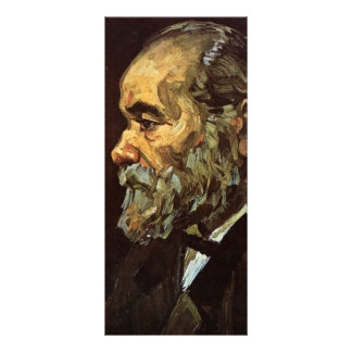 Portrait of an Old Man with Beard by van Gogh Rack Cards