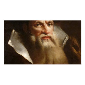 Portrait of an Philosopher by Giovanni Tiepolo Business Card Templates