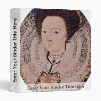 Portrait Of An Unknown Lady Oval By Nicholas Binder